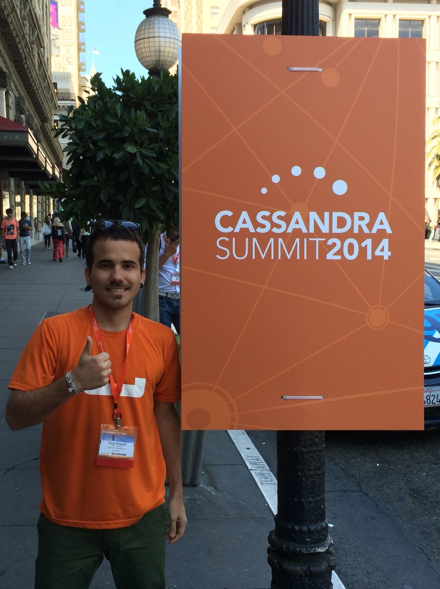 well, erm... that's me at #CassandraSummit 2014